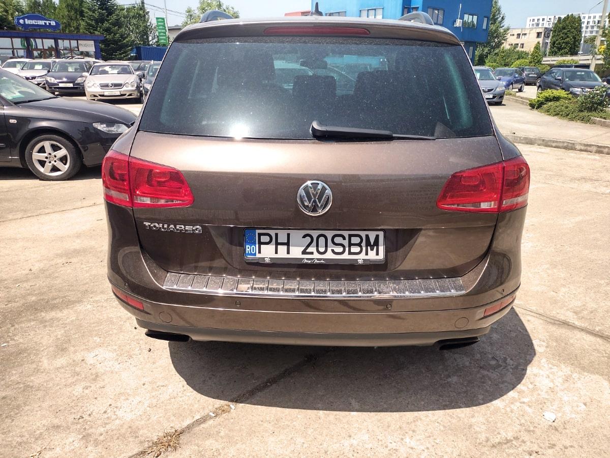 VW Touareg 4Motion